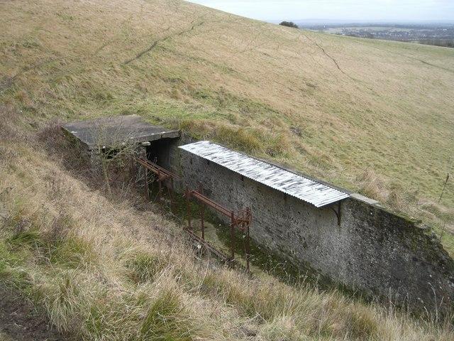 Pyecombe, Wolstonbury hill firing range