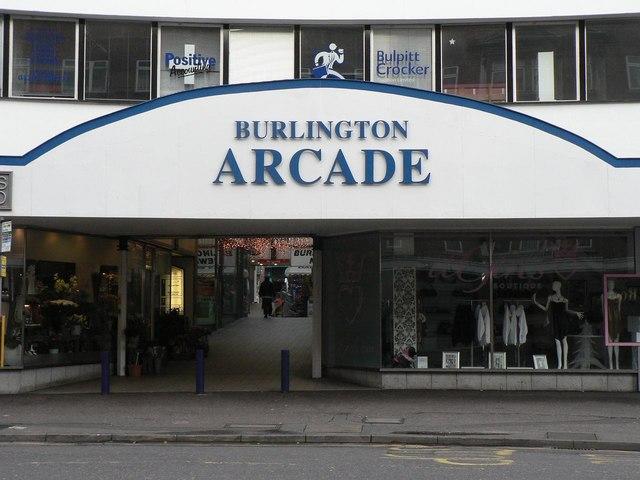 Bournemouth: Burlington Arcade frontage
