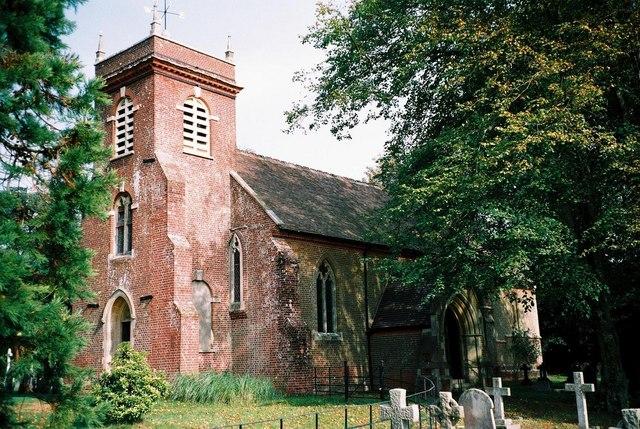 Hinton: parish church of St. Michael & All Angels