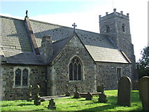 TA1345 : Rear of St Michael's ,Catwick by Michelle Coldham