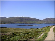 NF7828 : Loch Aineort, South Uist by Frances Watts