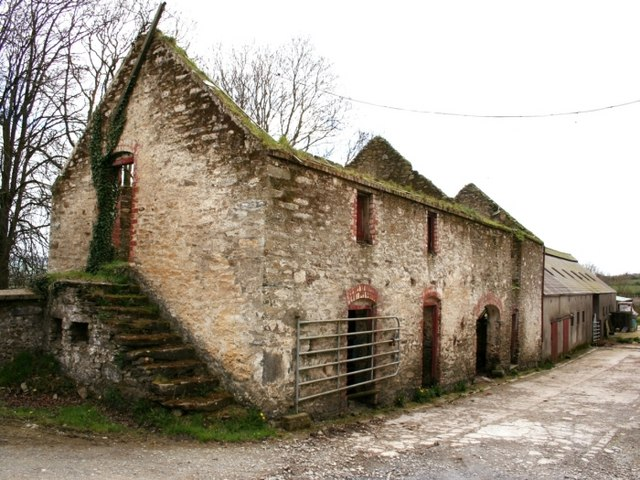 The Old Farmstead At Tiroddy 169 Robert Graham Geograph