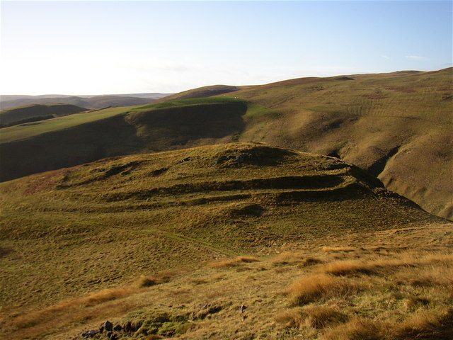 Iron Age hill fort at Camp Knowe
