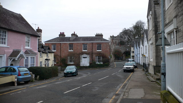 Castle Street Ruthin C Eirian Evans Geograph Britain And Ireland