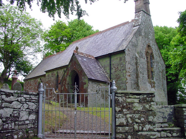 Parish church, Monington