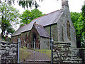 SN1343 : Parish church, Monington by Dylan Moore