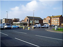 TQ2405 : Junction of Albion Street (A259) and Station Road (B2167) by Peter Holmes