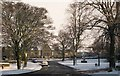 NY8355 : Shield Street and the Village Green by Mike Quinn