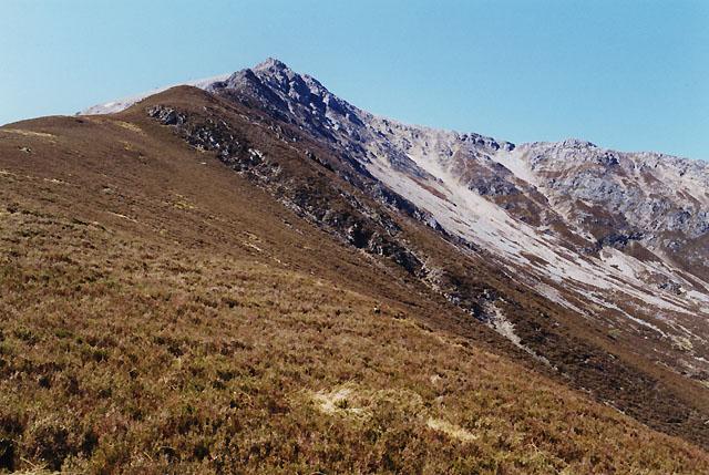The north east ridge of Sgorr Bhan