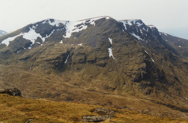 View south west from Beinn Achaladair