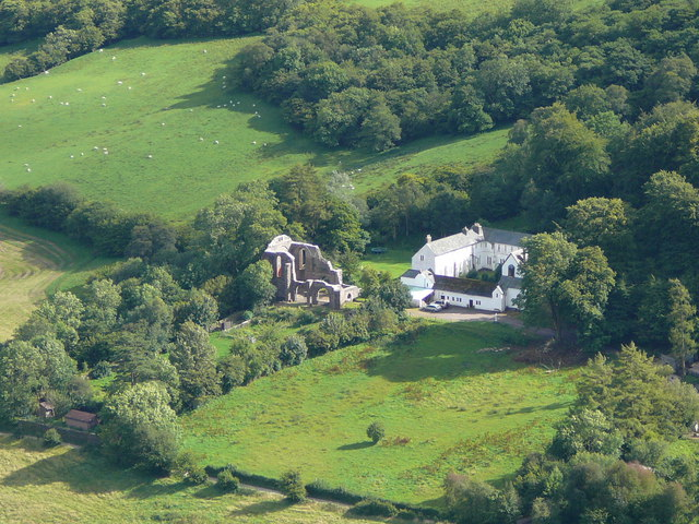 The Monastery and Grange, Capel-y-ffin.