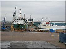 TQ7769 : Chatham Docks (2) by Danny P Robinson