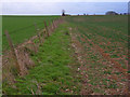 SY7497 : Farmland, Druce by Andrew Smith