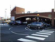 NS2776 : Tesco new car park by Thomas Nugent