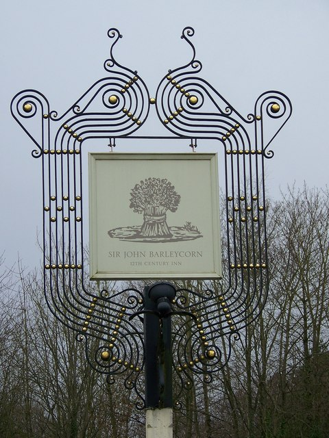Sign for the Sir John Barleycorn