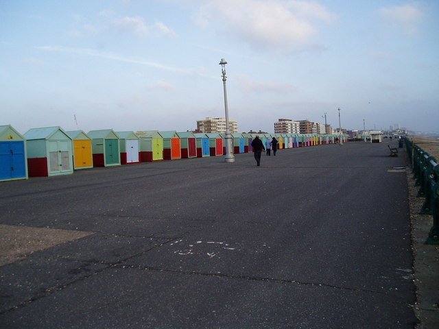 Beach huts on Western Esplanade