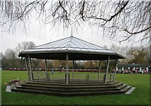 SU7682 : Mill Meadows bandstand by Sandy B
