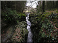 SN7773 : The Ystwyth Gorge in the Hafod estate by Nigel Brown