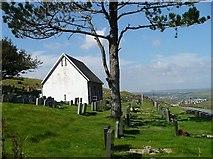 SO1004 : Pentwyn Cemetery, Fochriw by Robin Drayton