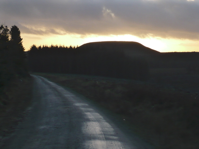 Blakey Topping from the forestry to the north