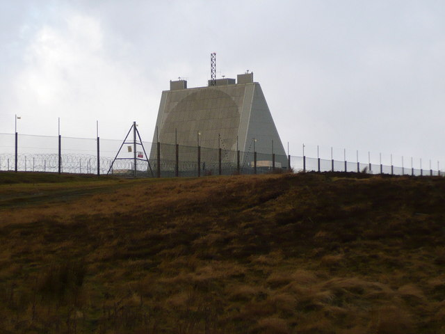 Phased array at RAF Fylingdales