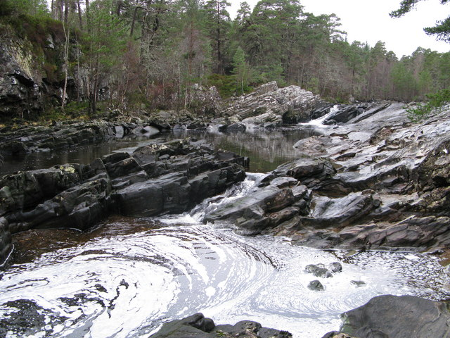 Falls,River Moriston