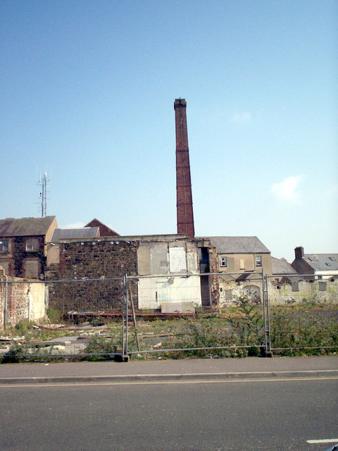 Factory Chimney, Cowdy Anthony & Sons, Portadown
