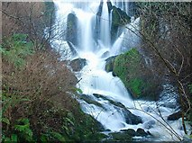 J4681 : Waterfall, Crawfordsburn Glen (1) by Albert Bridge