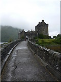 NG8825 : Eilean Donan castle by Colin Madge