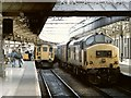 NJ9405 : Railway Station, Aberdeen by Dave Hitchborne