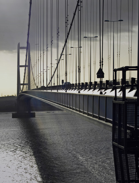 Humber Bridge from North Tower