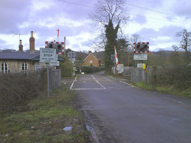 Automatic Half-Barrier Level Crossing