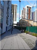 TQ3880 : Housing Construction and Prime Meridian, London by Nigel Mykura