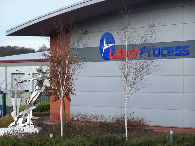 Sculpture, Laser Process Ltd, Hednesford