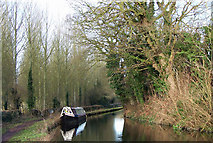 SO8688 : Staffordshire and Worcestershire Canal near Greensforge by Roger  Kidd
