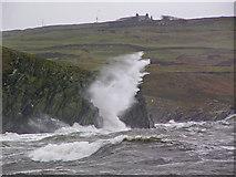 NX3639 : Cliffs at Back Bay by David Baird