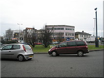 SU6400 : Commercial Road roundabout by Basher Eyre