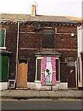 NZ5320 : Empty house, Redcar Road by Stephen McCulloch