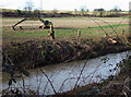 SO8688 : Smestow River at Ashwood, Staffordshire by Roger  Kidd