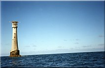 SV8006 : Bishop Rock Lighthouse by Alan Heardman