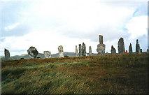 NB2133 : Stone circle by Trevor Rickard