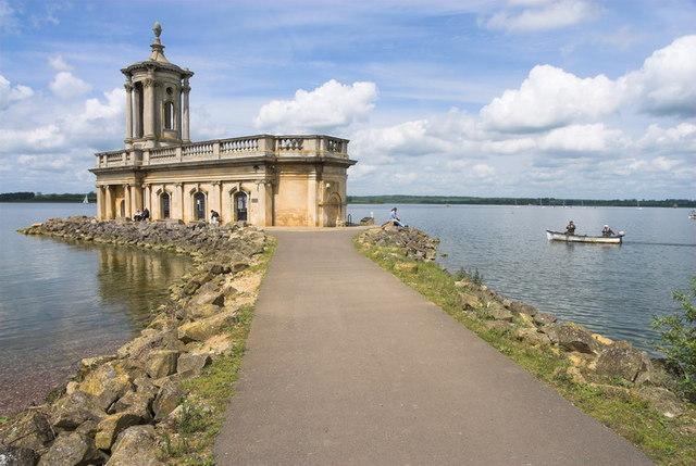 Normanton Church on Rutland Water