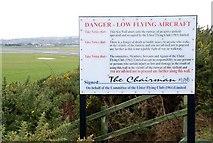 J4972 : Sign, seawall, Newtownards by Albert Bridge