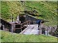 NN0932 : Drainage system for Cruachan Reservoir nr Lairig Noe by Malcolm Wylie
