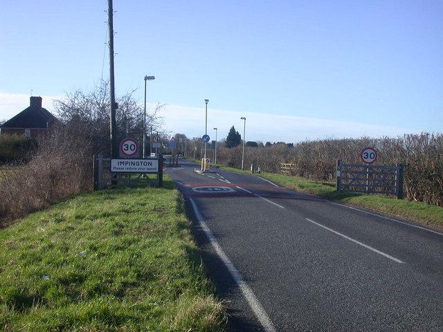 Impington - Please reduce your speed