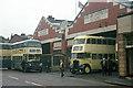 SJ3385 : Birkenhead Corporation Motor Omnibus Garage by Alan Murray-Rust