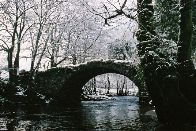 Old Bridge at Glenshellish Farm, Glenbranter, Cowal