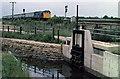 TF1602 : Sluice at Werrington by Martin Addison