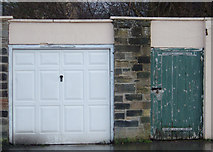 NZ1647 : Two Doors in Lanchester by michael ely