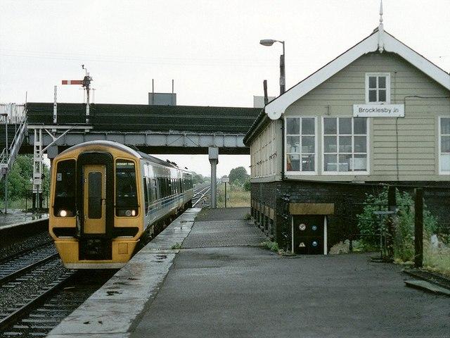 Railway Station, Brocklesby